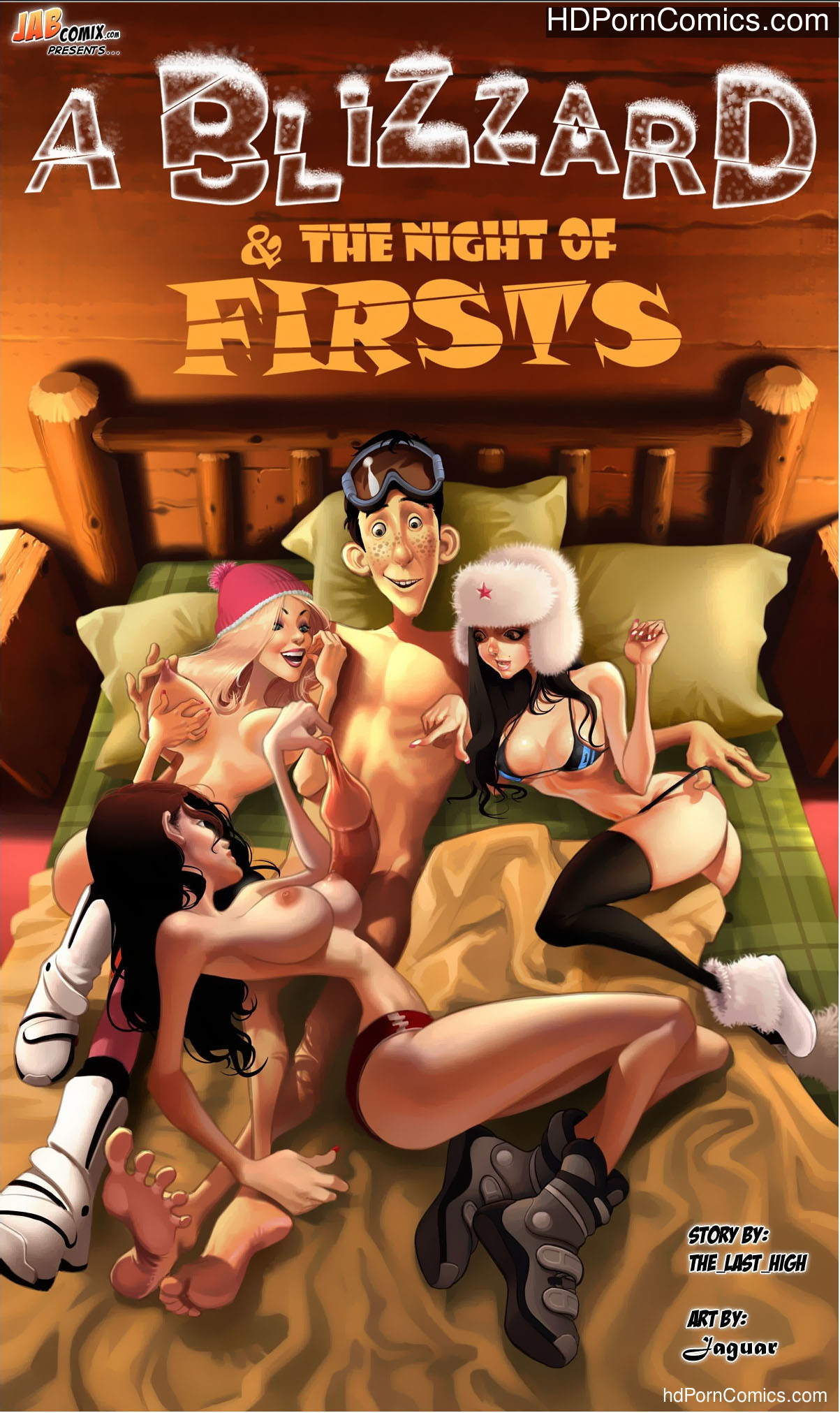 A Blizzard & Night of Firsts [55 Pages] free Porn Comic